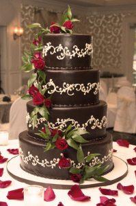 Wedding cake al cioccolato